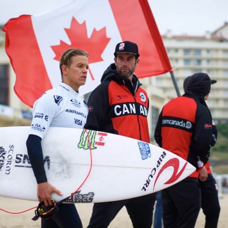 world team surf canada Shannon Brown Coach