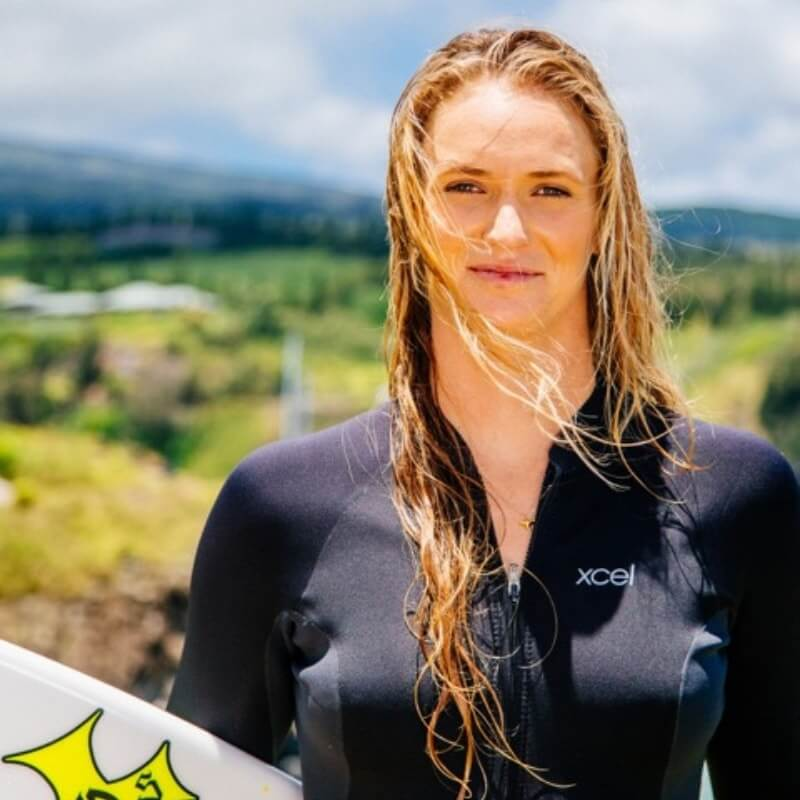 National Team World Paige Alms Surf Canada