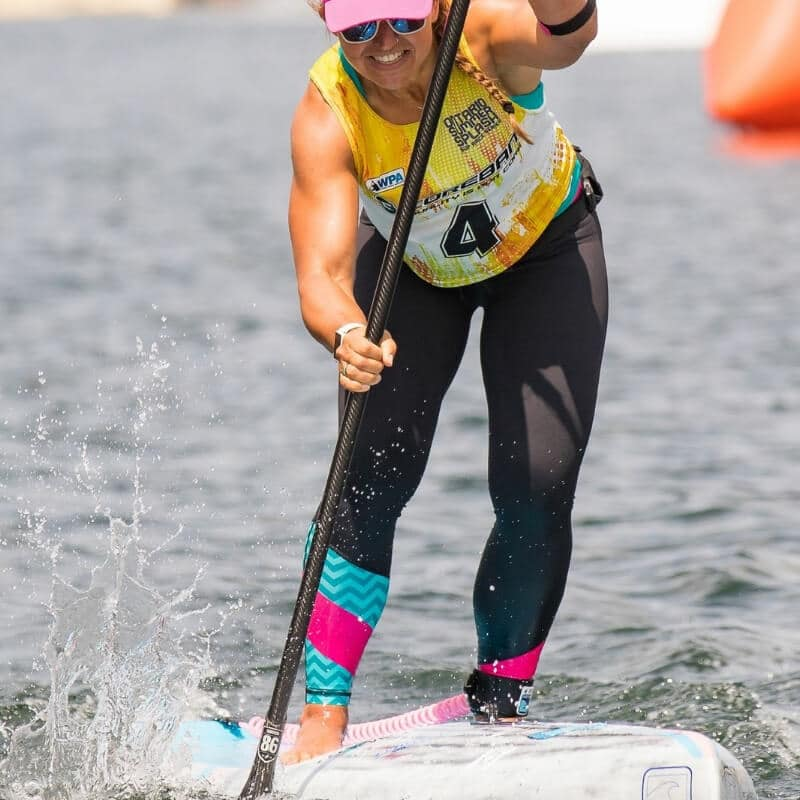 Ariel Amaral surf Canada national SUP