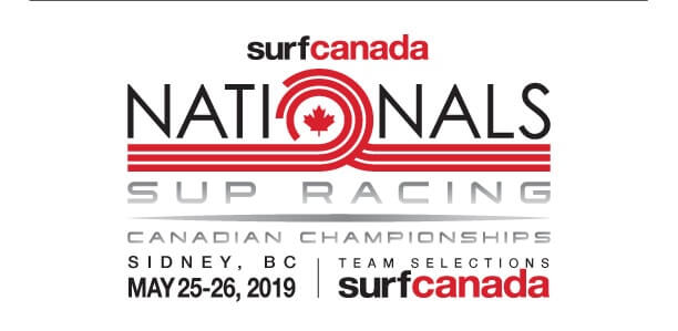 SUP Racing 2019 Logo surf Canada