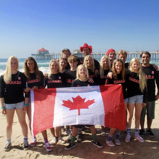 Surf Canada Team Canada Group