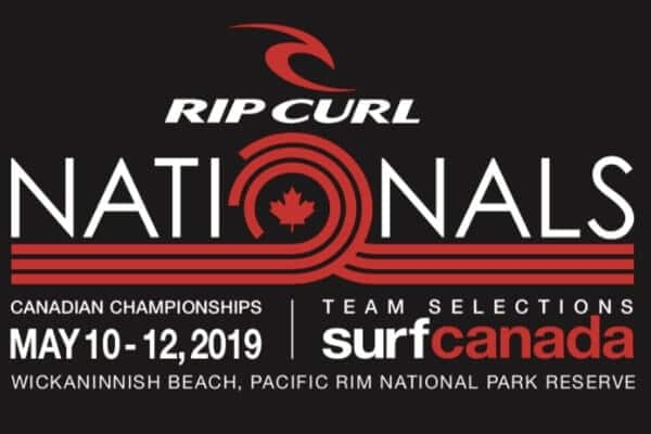 RipCurl Nationals surf canada may 2019
