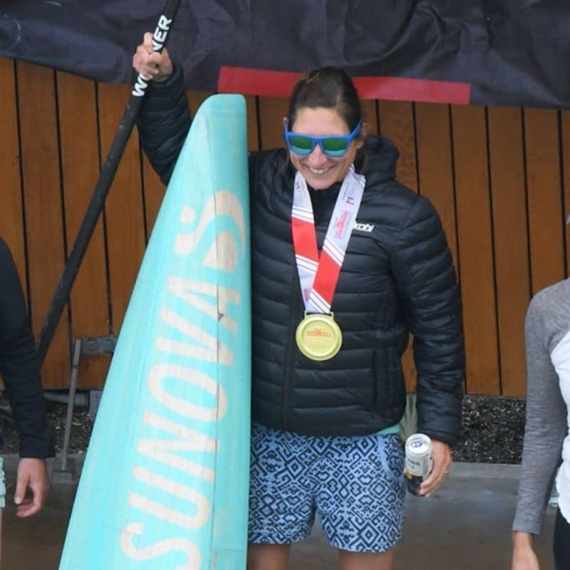 Lina Augaitis Vernon BC SUP Race