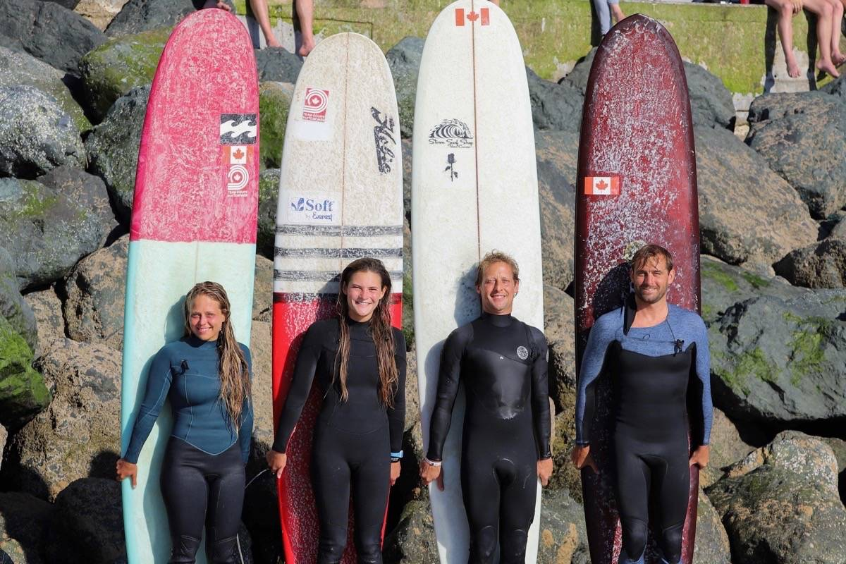 clinches 13th at surfing Worlds-team-canada-
