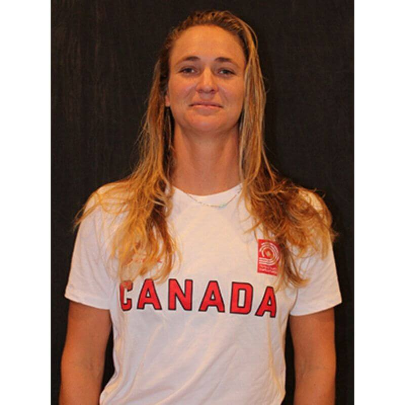 Paige Alms Olympic Pathway Team surf canada