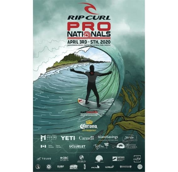 2020 Rip Curl Nationals surf canada