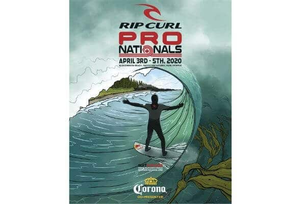 2020 Ripcurl Pro Nationals surf canada