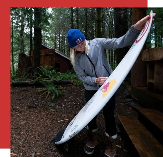 Mathea Olin csa surf canada olympics