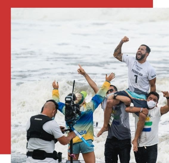 Olympic Surfing Champions